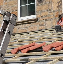 Leicester roofing tiles