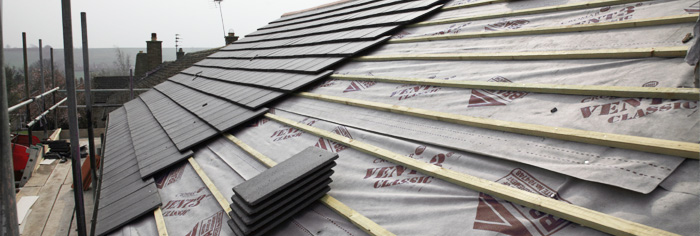 Roofing services across Leicester