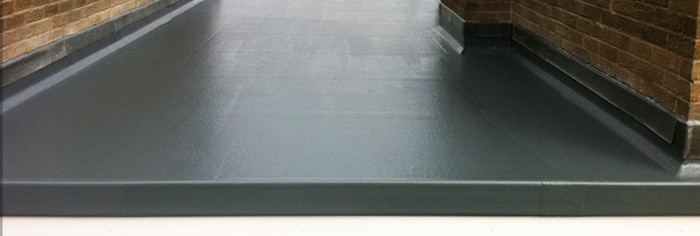 Waterproof fibreglass roofing