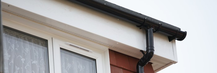 Damaged fascias replaced in Leicester